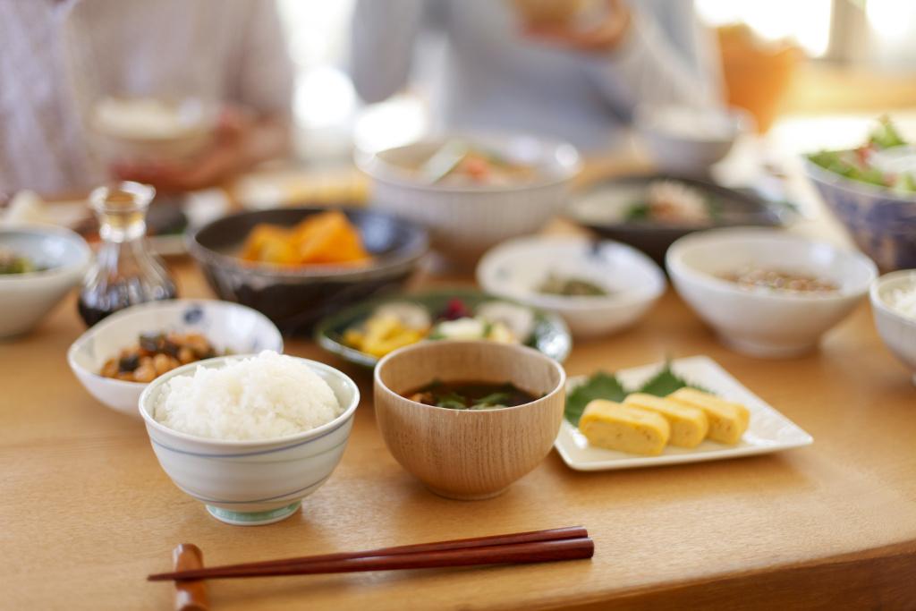 普段の食事風景