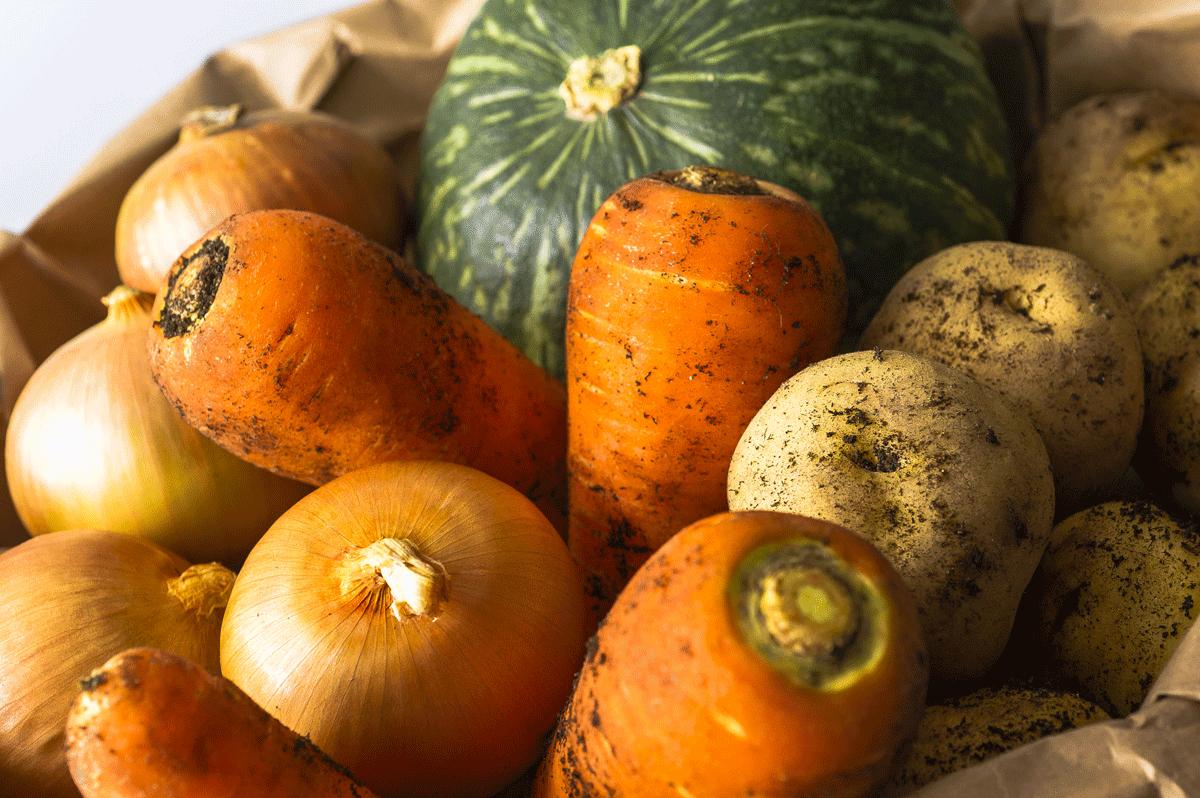 体を温める野菜