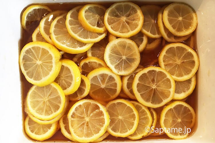 手作りレモンシロップ